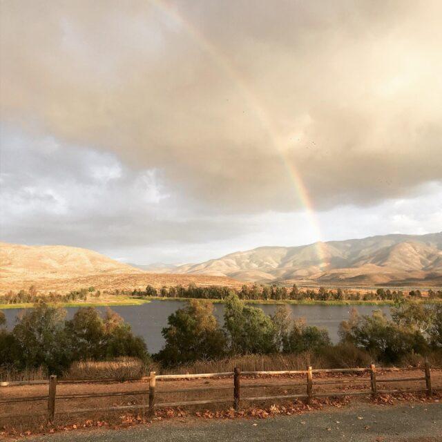 Rainbow Over Otay Lakes