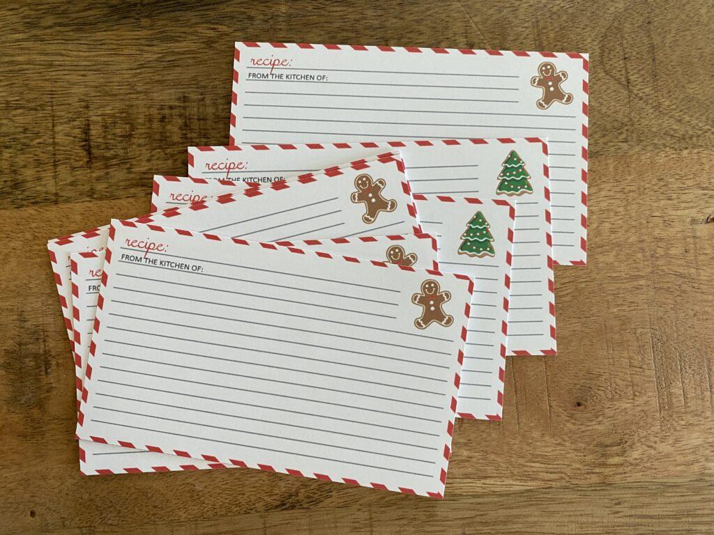 Custom Christmas Cookie Exchange Designs