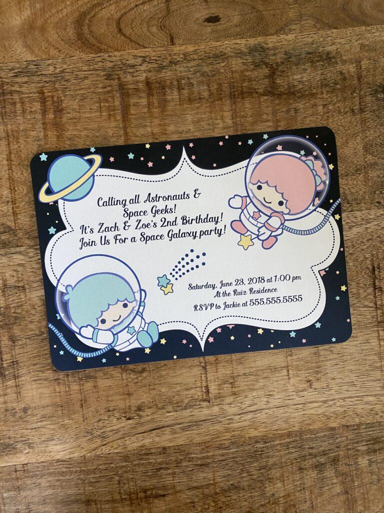 Little Twin Stars in Space